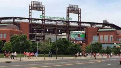 Citizens bank park  section Front