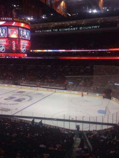 Wells Fargo Center, section: Suite 75, row: 1