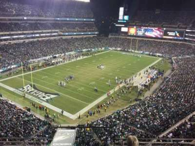 Lincoln Financial Field, section: 218, row: 4, seat: 20