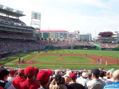 Nationals Park, section: 128, row: PP, seat: 10