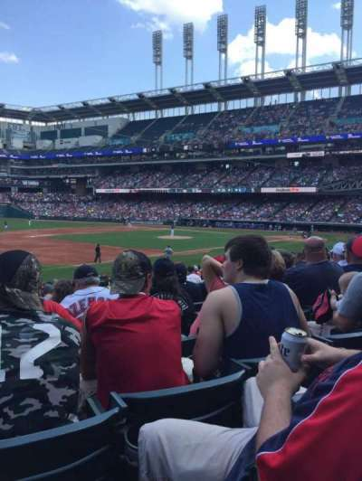 Progressive Field, section: 169, row: CC, seat: 1