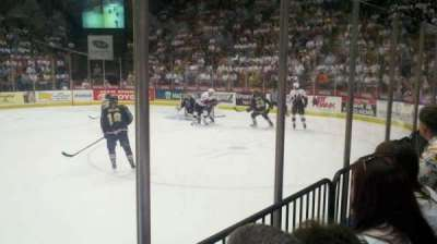 Floyd L. Maines Veterans Memorial Arena section 28