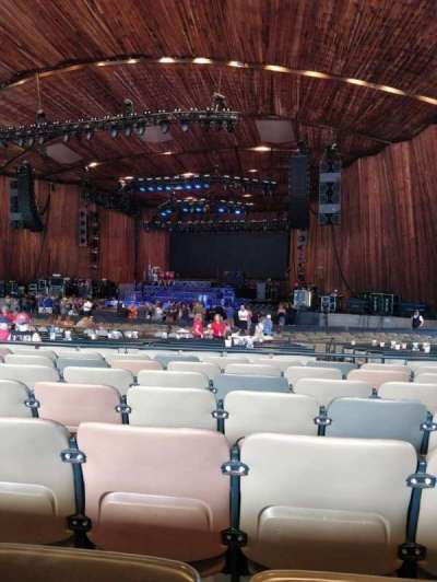 Blossom Music Center , section: 23, row: T, seat: 10