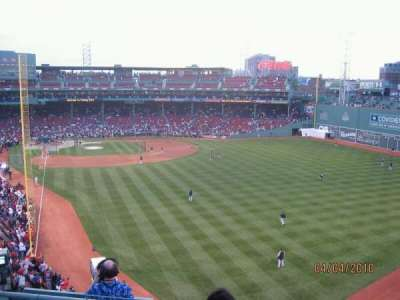 Fenway Park section Right Field Roof Budweiser Sec