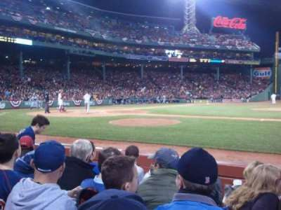 Fenway Park section Field Box 30