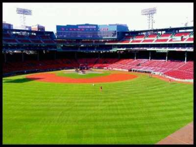 Fenway Park section Monster