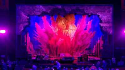 Oriental Theatre, section: Orch-C, row: Y, seat: 107