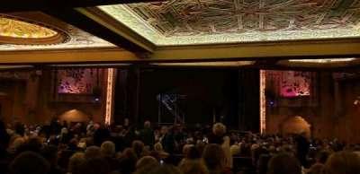 Coronado Theatre, section: Orch5, row: KK, seat: 6