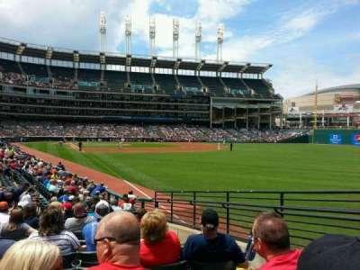Progressive Field, section: 117, row: S, seat: 3