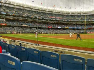 Yankee Stadium, section: 14a, row: 3, seat: 1