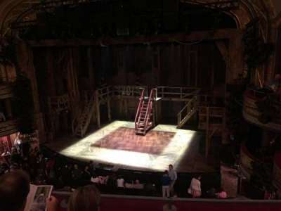 Richard Rodgers Theatre, section: Front mezzanine, row: C, seat: 12