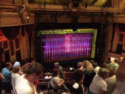 Hippodrome Theatre, section: Left Mid Balcony, row: J, seat: 205
