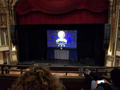 Golden Gate Theatre, section: Loge RC, row: C, seat: 114