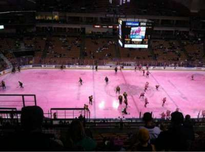 SNHU Arena, section: 208, row: P, seat: 18
