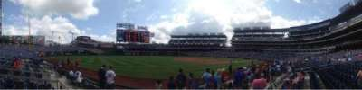 Nationals Park, section: 112, row: F, seat: 1