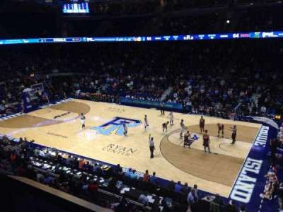 Ryan Center, section: 310, row: A, seat: 4