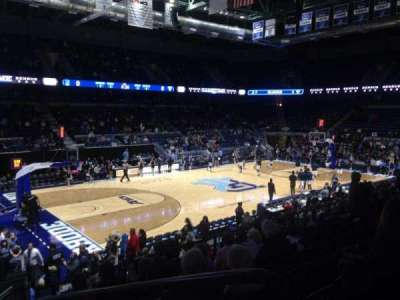 Ryan Center, section: 207, row: H, seat: 1