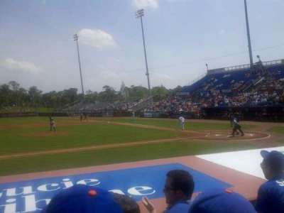 Tradition Field, section: 108, row: F, seat: 10