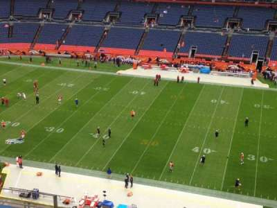 Sports Authority Field at Mile High, section: 506, row: 8, seat: 16