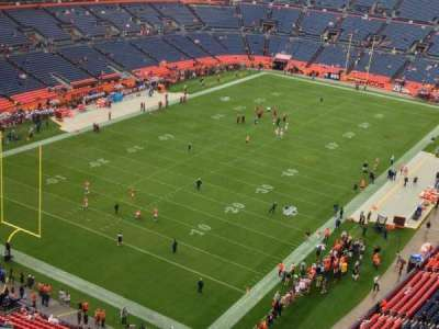 Sports Authority Field at Mile High, section: 518, row: 12, seat: 11