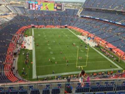Invesco Field at Mile High, section: 524, row: 8, seat: 7