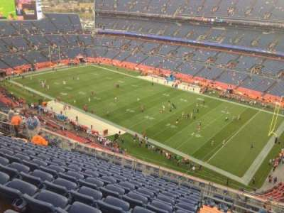 Sports Authority Field at Mile High, section: 530, row: 19, seat: 5