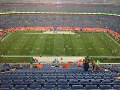 Sports Authority Field at Mile High, section: 525, row: 27, seat: 6