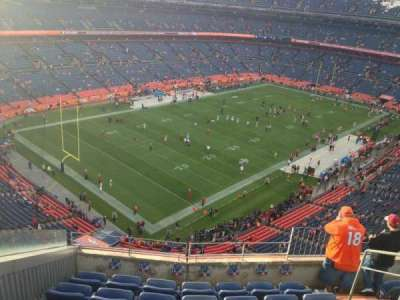 Invesco Field at Mile High, section: 542, row: 7, seat: 4