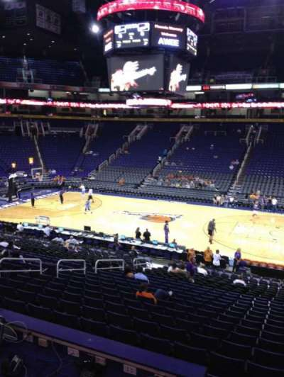 Talking Stick Resort Arena, section: 101, row: 23, seat: 4