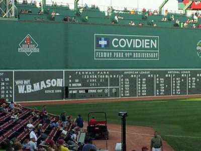 Fenway Park section 203