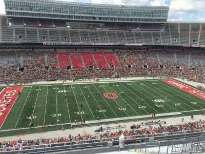 Ohio Stadium, section: 24C, row: 38, seat: 14