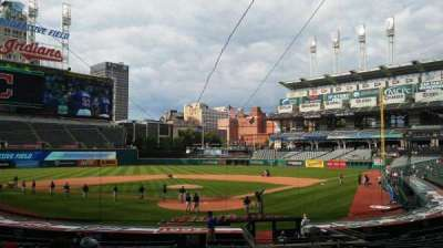 Progressive Field, section: 154, row: AA, seat: 13
