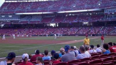 Great American Ball Park, section: 112, row: I, seat: 14
