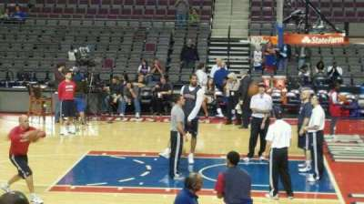 The Palace of Auburn Hills, section: 125, row: c, seat: 018