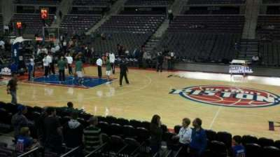 The Palace of Auburn Hills, section: 126, row: b, seat: 018