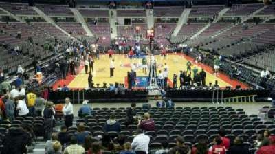 The Palace of Auburn Hills, section: 107, row: g, seat: 012