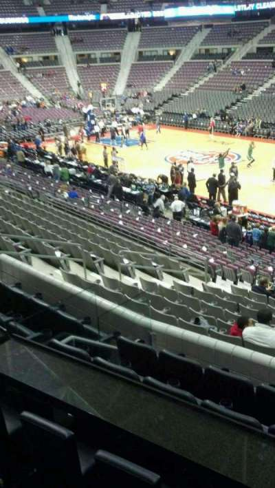 The Palace of Auburn Hills, section: 111, row: k, seat: 001
