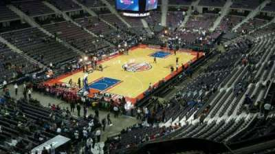 The Palace of Auburn Hills, section: 205, row: 8, seat: 013