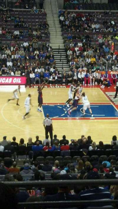 The Palace of Auburn Hills section 126