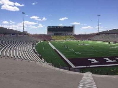 Aggie Memorial Stadium section O