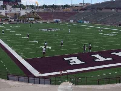 Aggie Memorial Stadium, section: B, row: 14