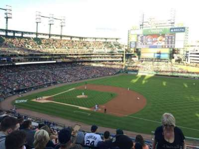 Comerica Park, section: 218, row: 7, seat: 5