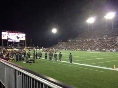 Tim Hortons Field, section: 102, row: 1, seat: 22