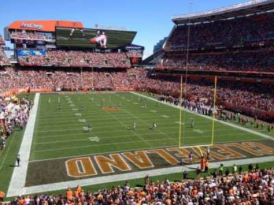 FirstEnergy Stadium, section: 345, row: 1, seat: 19