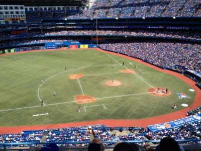 Rogers Centre, section: 530L, row: 5, seat: 103