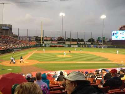 Coca-Cola Field, section: 110, row: Q, seat: 6