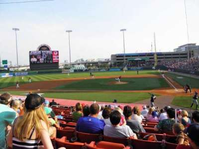 Coca-Cola Field, section: 109, row: P, seat: 1