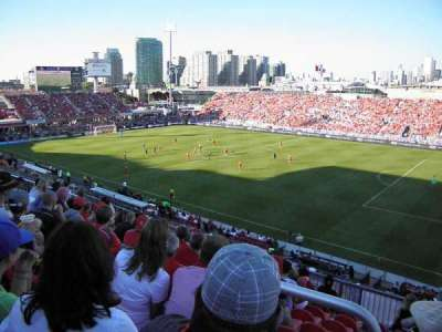 BMO Field, section: 220, row: 9, seat: 1