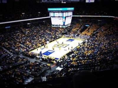 BMO Harris Bradley Center, section: 407, row: N, seat: 2