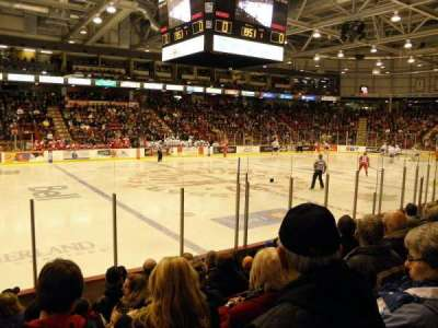 Essar Centre, section: 109, row: G, seat: 14